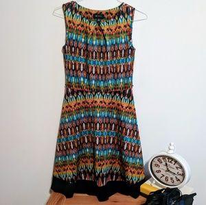 AB Studio Multicolor Dress Size Small EUC